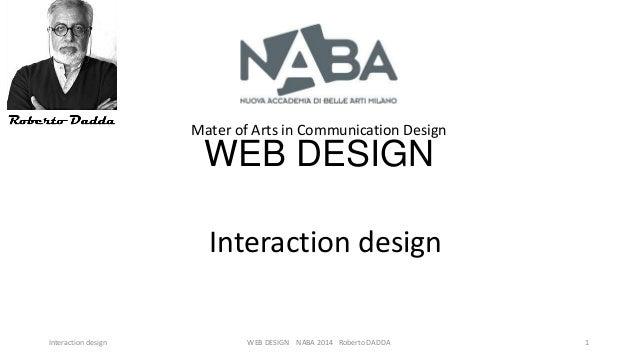 Iteraction design