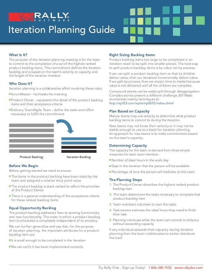 Iteration Planning Guide