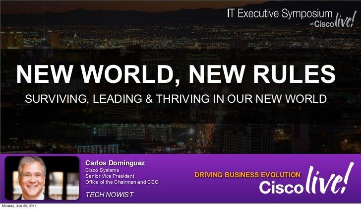 IT Executive Forum, Cisco LIve 2011