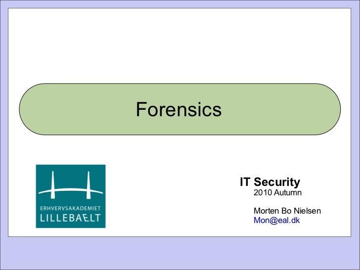 Itet3 its forensics