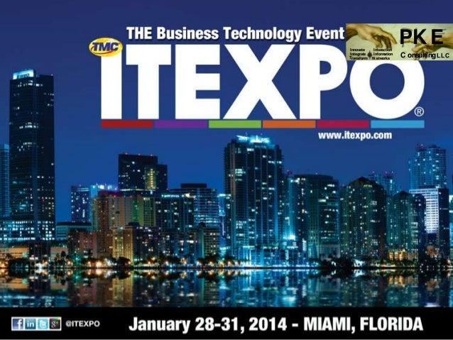 ITEXPO (January 2014) - Generating Revenue with WebRTC