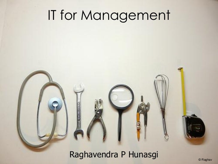 IT for management