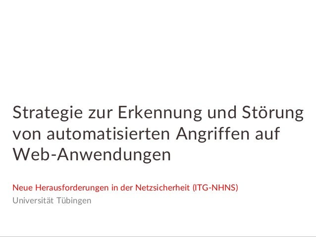 Albstadt-Sigmaringen | Cyber Security Lab 24.09.2015 Dipl.-Ing. (FH) Tobias Scheible, Prof. Holger Morgenstern http://cybe...