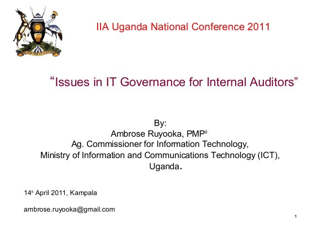 IT_Governance iia uganda_presentation_ruyooka_2011