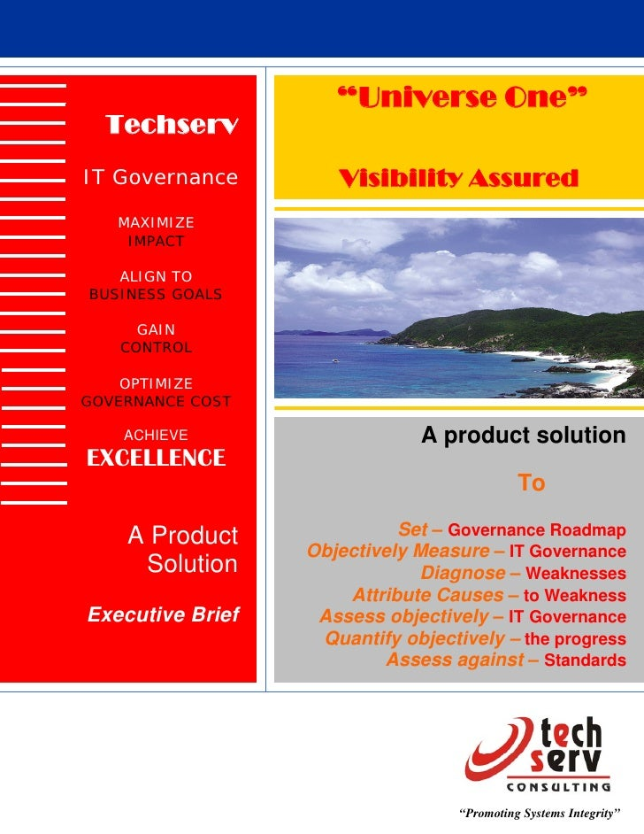It governance product
