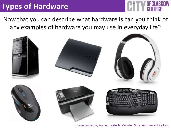 Hardware And Software Examples Gallery