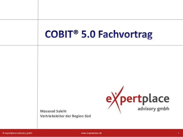 ITIL® COBIT® Convergence – Fachreferat