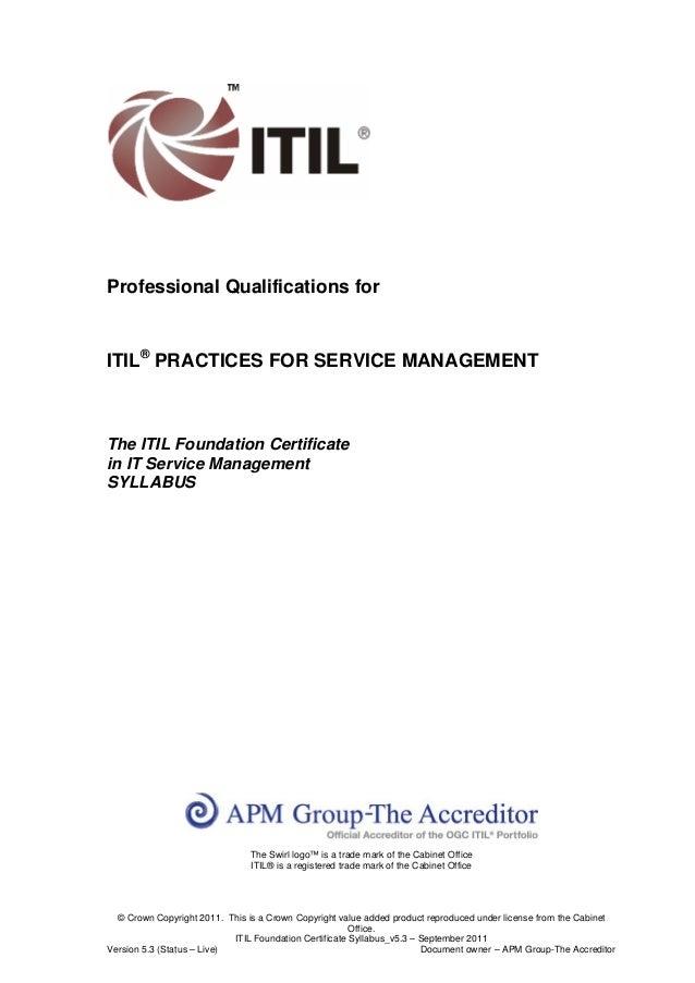Itil foundation certificate_syllabus_v5.3