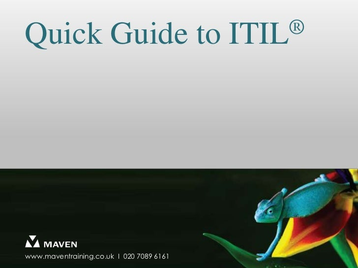 Quick Guide to ITIL®<br />