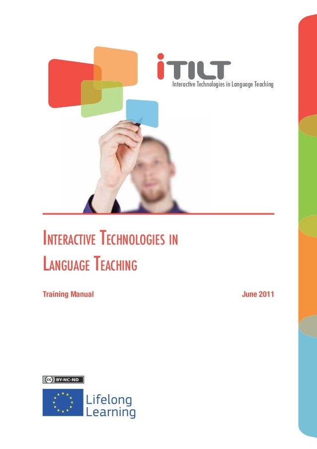 Interactive Technologies in Language TeachingInteractive Technologies inLanguage TeachingTraining Manual                  ...