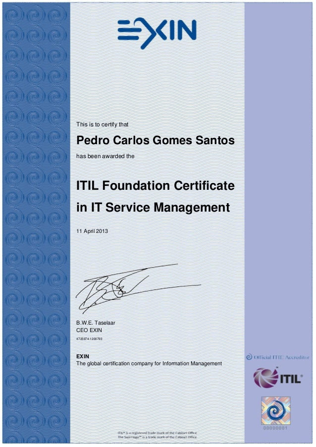 Itil Foundation Certification Page 2 Hardwarezone
