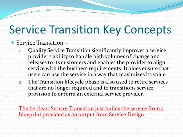 I need a transition phase!?