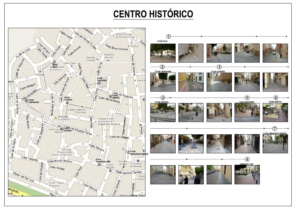 Itinerario centro historico