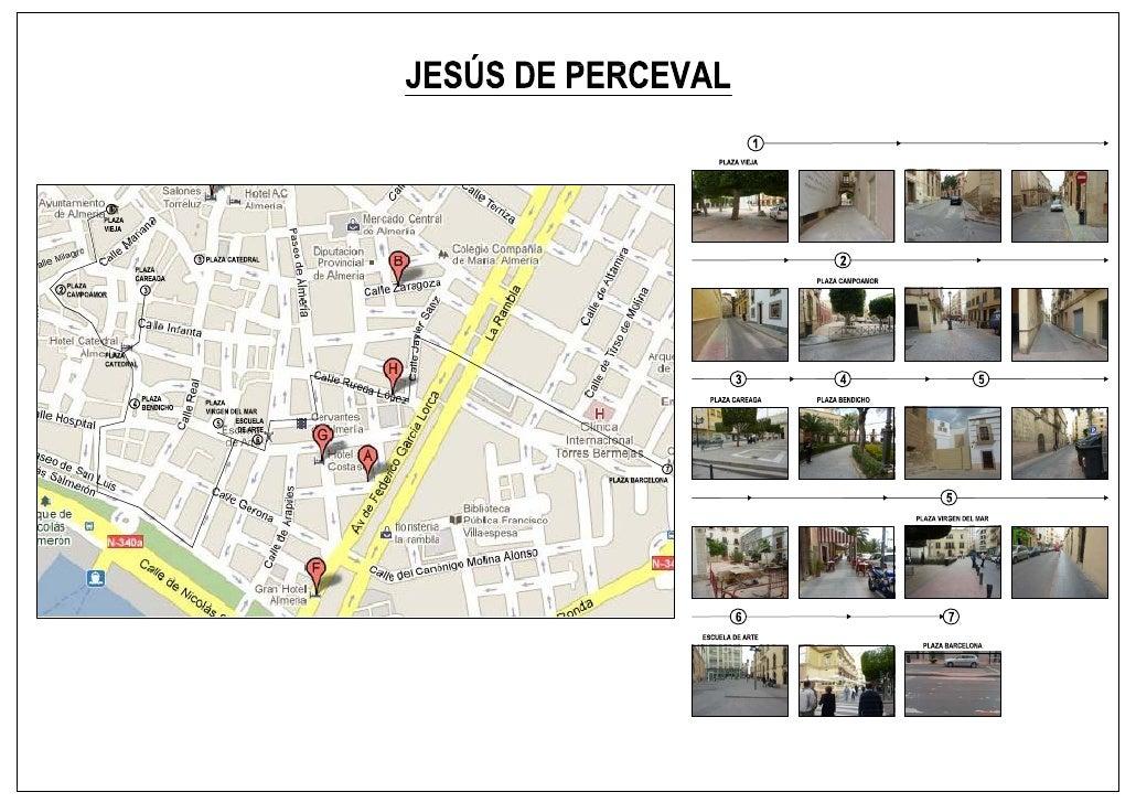 Itinerario jesus perceval