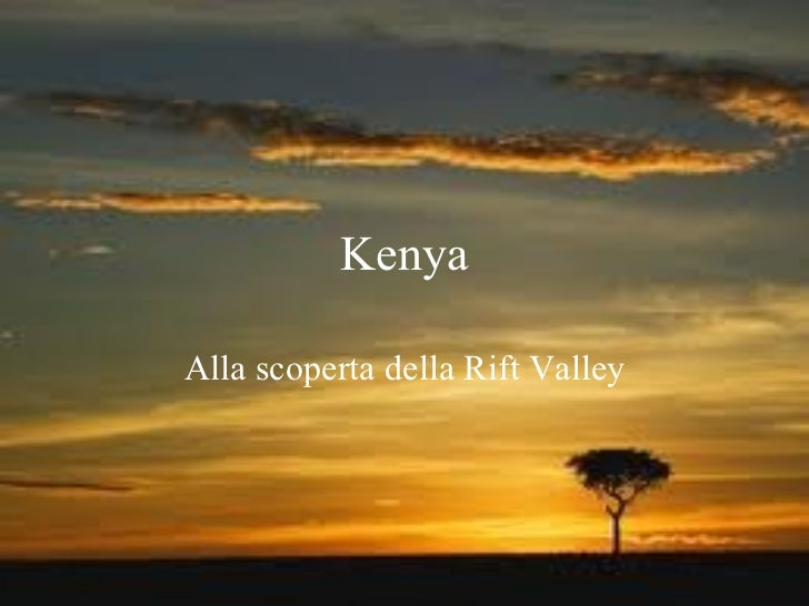 Itinerario kenya