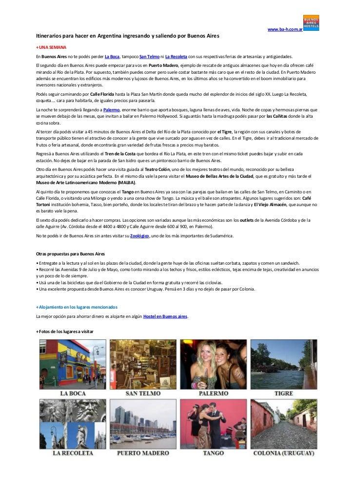 Itinerarios Buenos Aires-Buenos Aires_www.ba-h.com.ar
