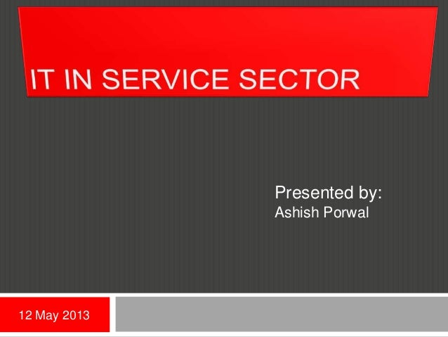 It in service sector