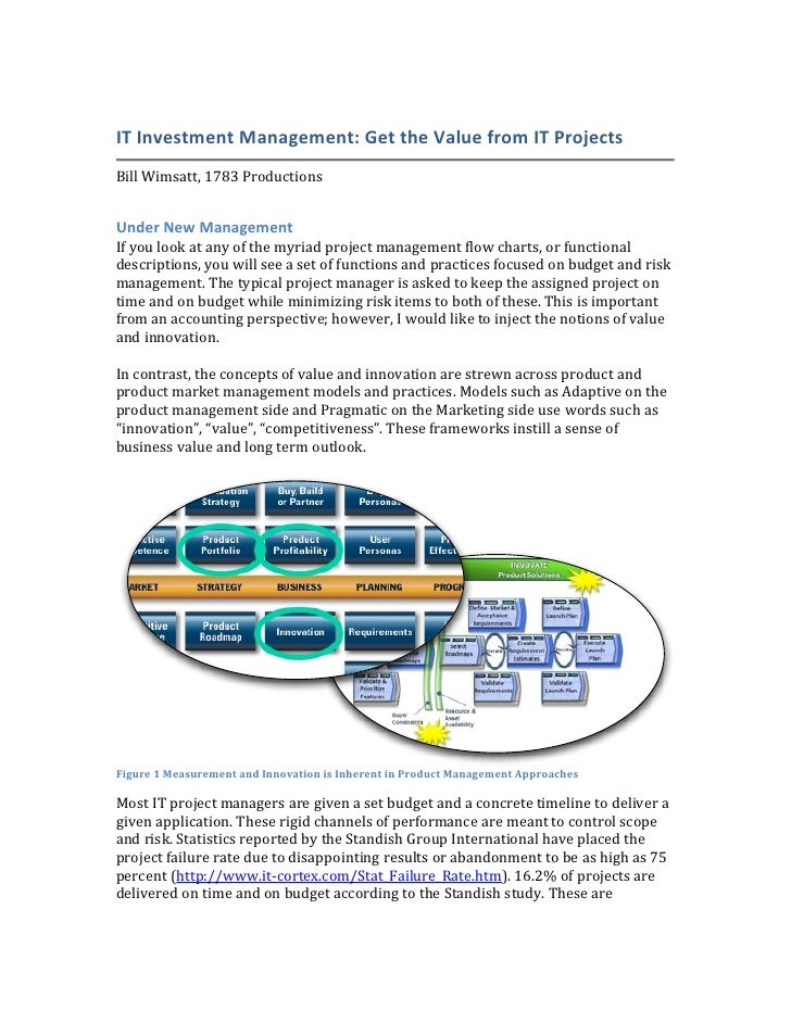 IT	   Investment	   Management:	   Get	   the	   Value	   from	   IT	   Projects	                                         ...