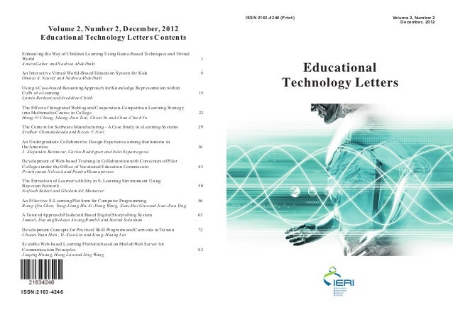 ISSN 2163-4246 (Print)           Volume 2, Number 2                                                                       ...