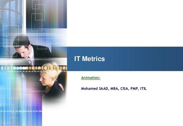 It metrics part 1