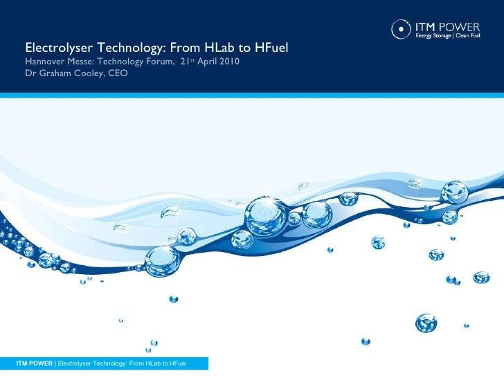Itm Hannover Presentation