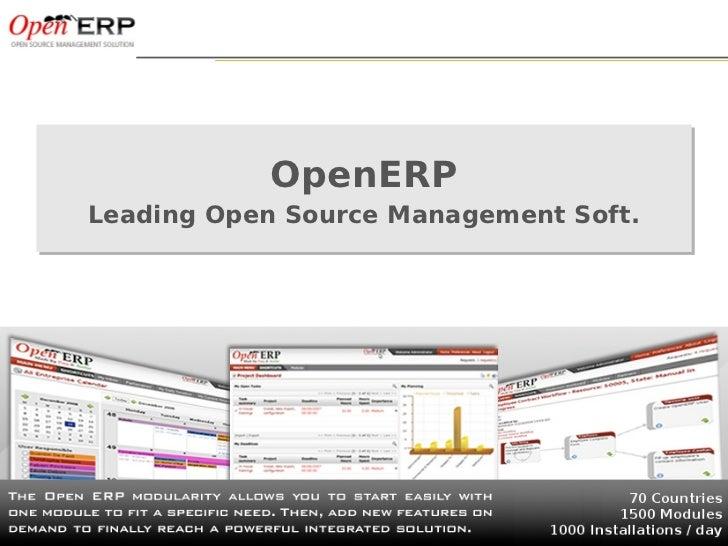ITmoov 2012 - Het OpenERP business model