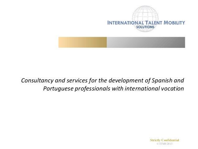 International Talent Mobility Solutions - Short Presentation