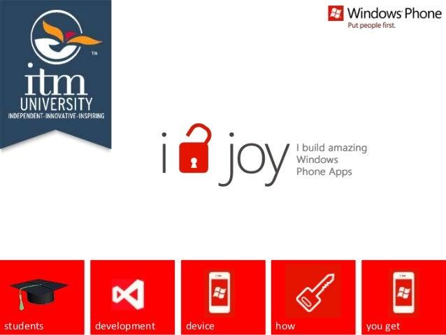 I Unlock Joy! - ITM Gurgaon