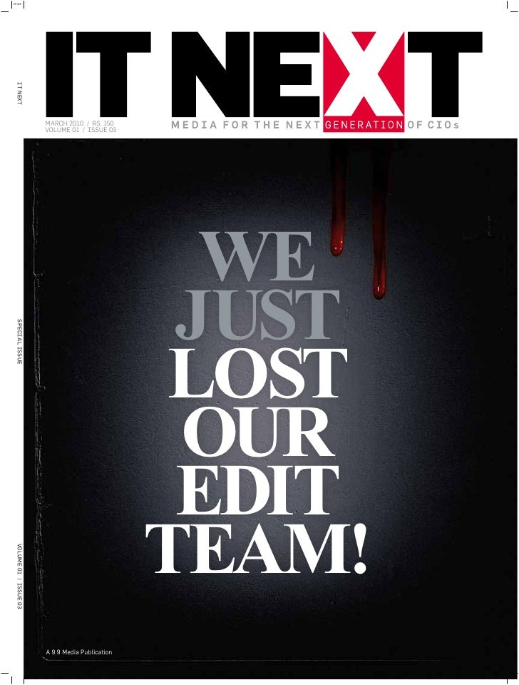 IT Next March 2010 Issue