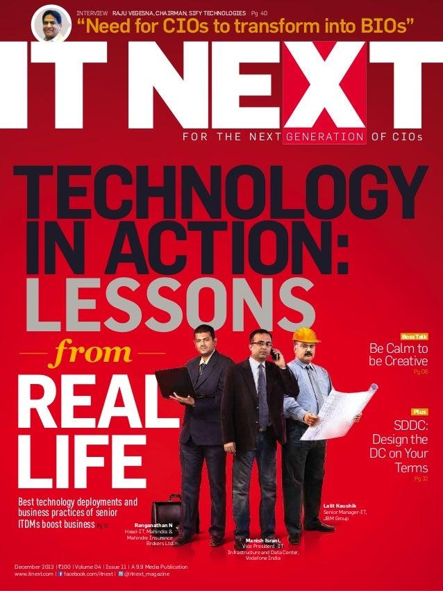 ITNEXT Magazine December 2013