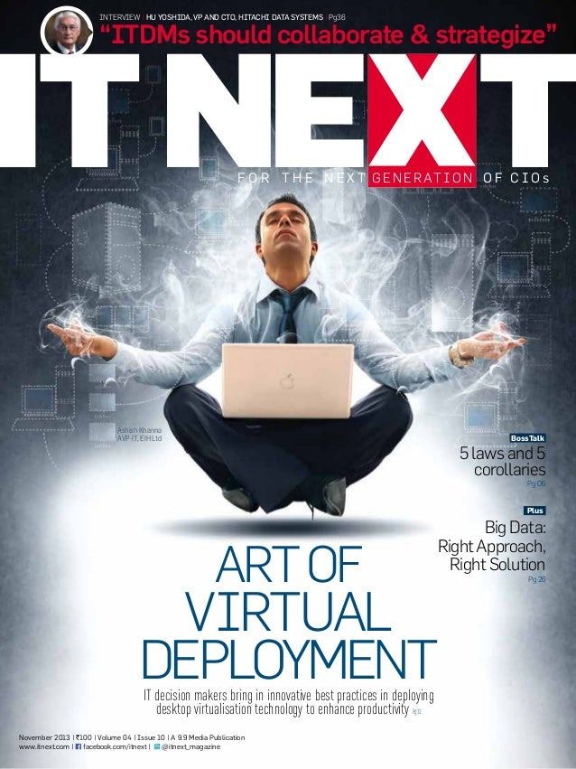 ITNEXT Magazine November 2013