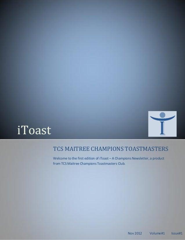I toast vol1_nov12