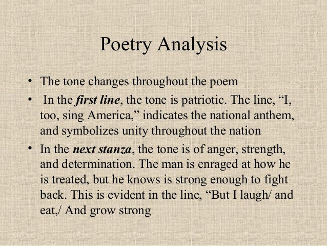 an analysis of the poem i could not eat the poem i wrote by livingston hughes