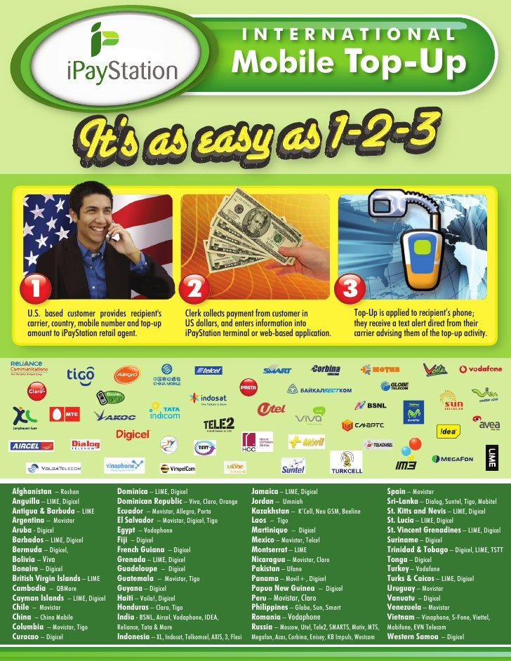 International Mobile Topup 8 5x11 Handout