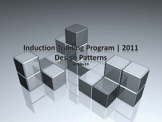 Design Patterns| What is a Pattern?                        A Design Pattern is essentially a                        descri...