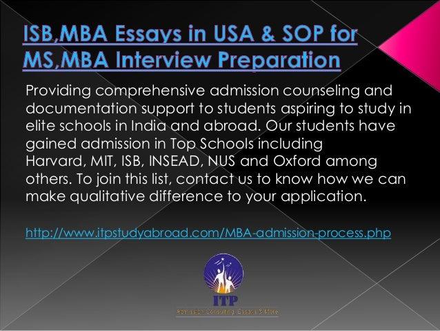 Insead mba essays