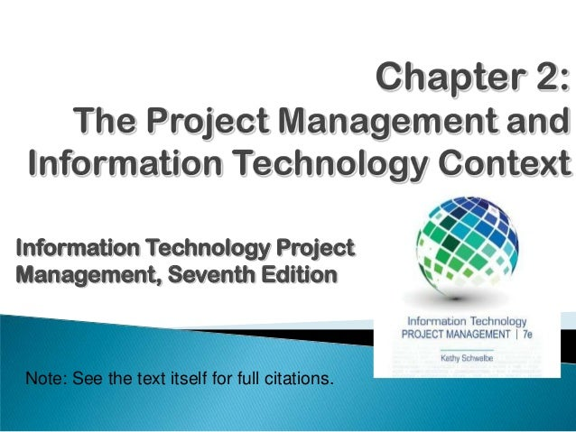 Information Technology Project Management - part 02