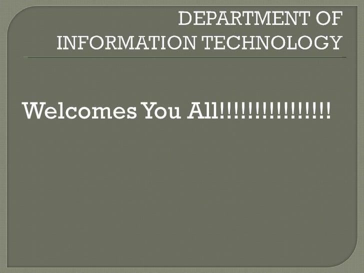 <ul><li>Welcomes You All!!!!!!!!!!!!!!!! </li></ul>