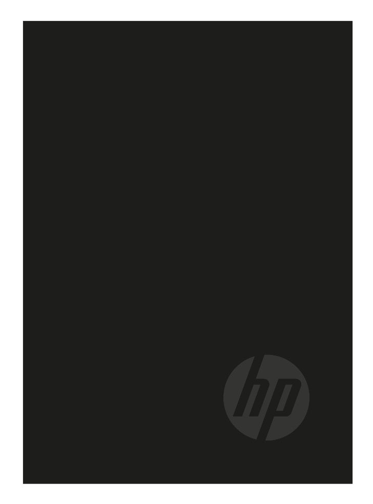 HP IT Performance Suite    Perform Better©201 Hewlett-Packard Development Company, L.P.      1La información contenida en ...