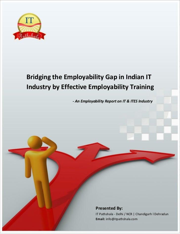 Employability Gap In Indian IT Industry