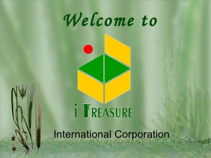 Welcome to  International Corporation