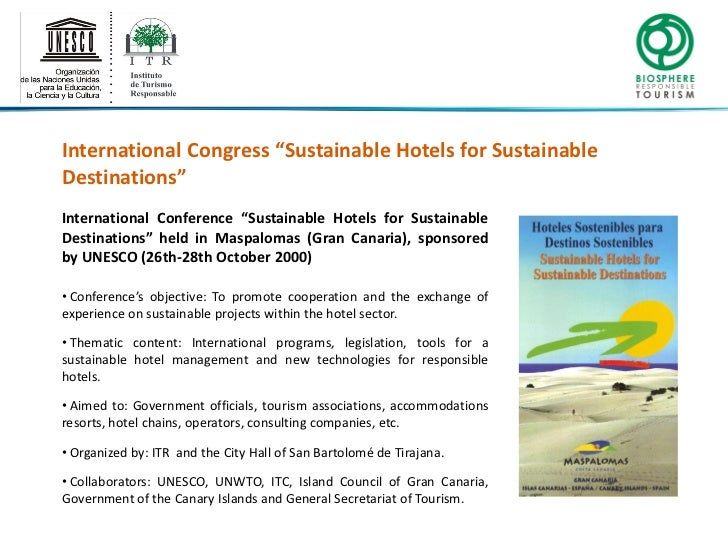 sustainability within hotels on cran canaria The key sustainability factors were identified, and a regression analysis  the  number of hotel beds in gran canaria is about 62,647, while the.