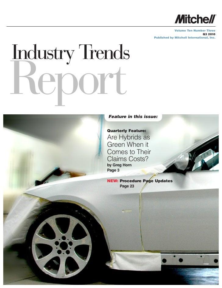 Informe 2 Trimestre de la Industria de la Reparacion en EE.UU