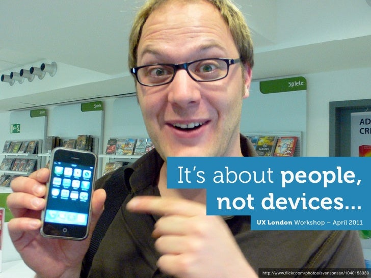 Its about people, not devices