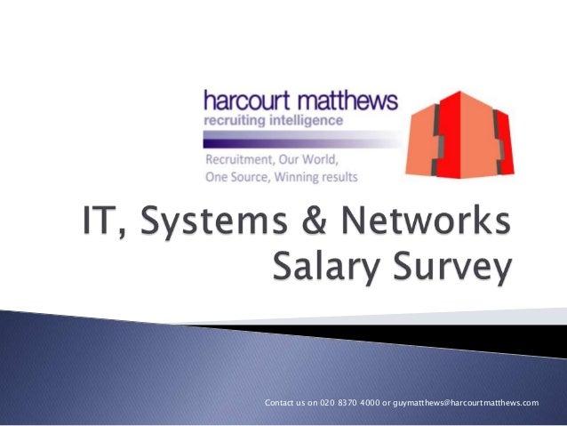 IT Salary Survey