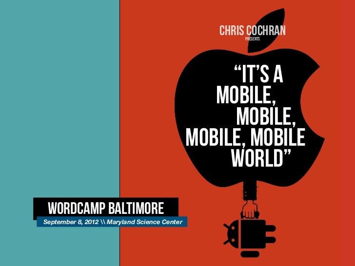 CHRIS COCHRAN                                                       presents                                              ...