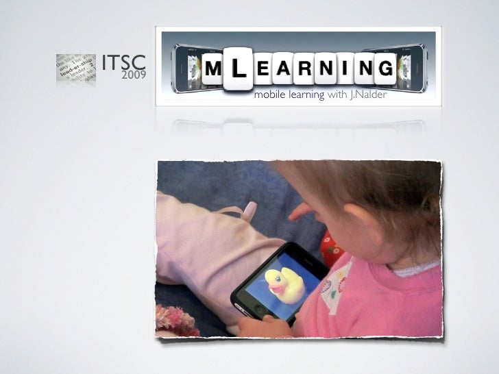 iPod touch for mobile learning