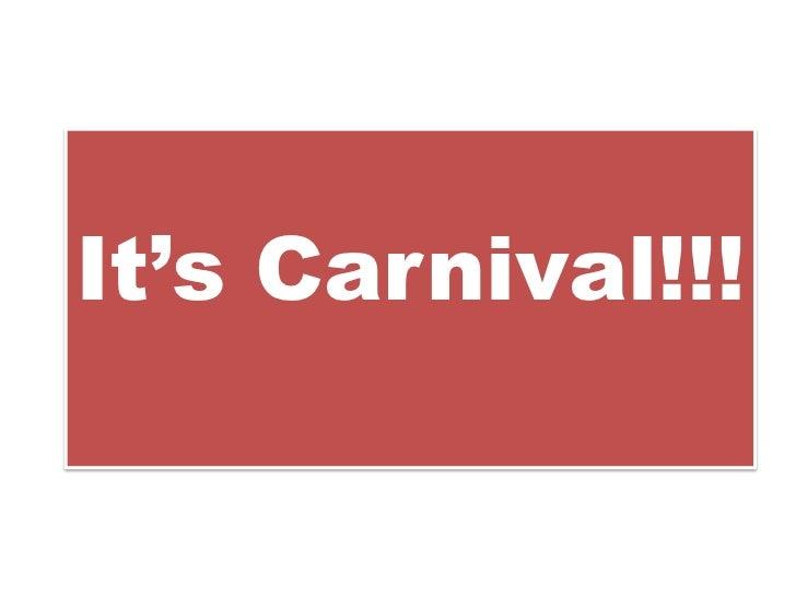 It'sCarnival!!!<br />