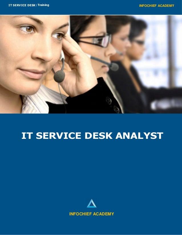 INFOCHIEF ACADEMYIT SERVICE DESK | Training IT SERVICE DESK ANALYST INFOCHIEF ACADEMY