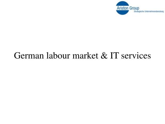 German labour market & IT services